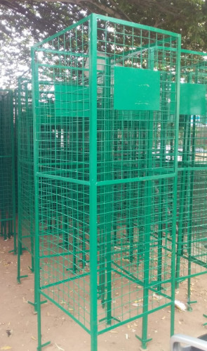 TREE GUARD - Welded Mesh with Metal Frame