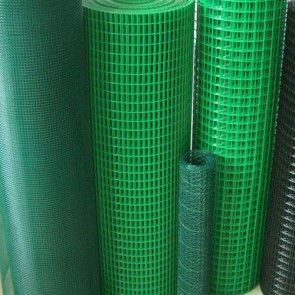 "PVC COATED WELDED MESH-½ "" ½ ""X16SWGX3'X10Mtr"