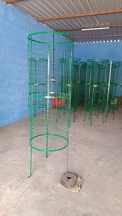 TREE GUARD -  Round Welded Mesh with Metal Frame