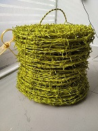 PVC COATED BARBED WIRE 12x12